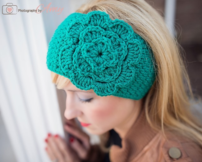 DIY Crochet Headband & Flower