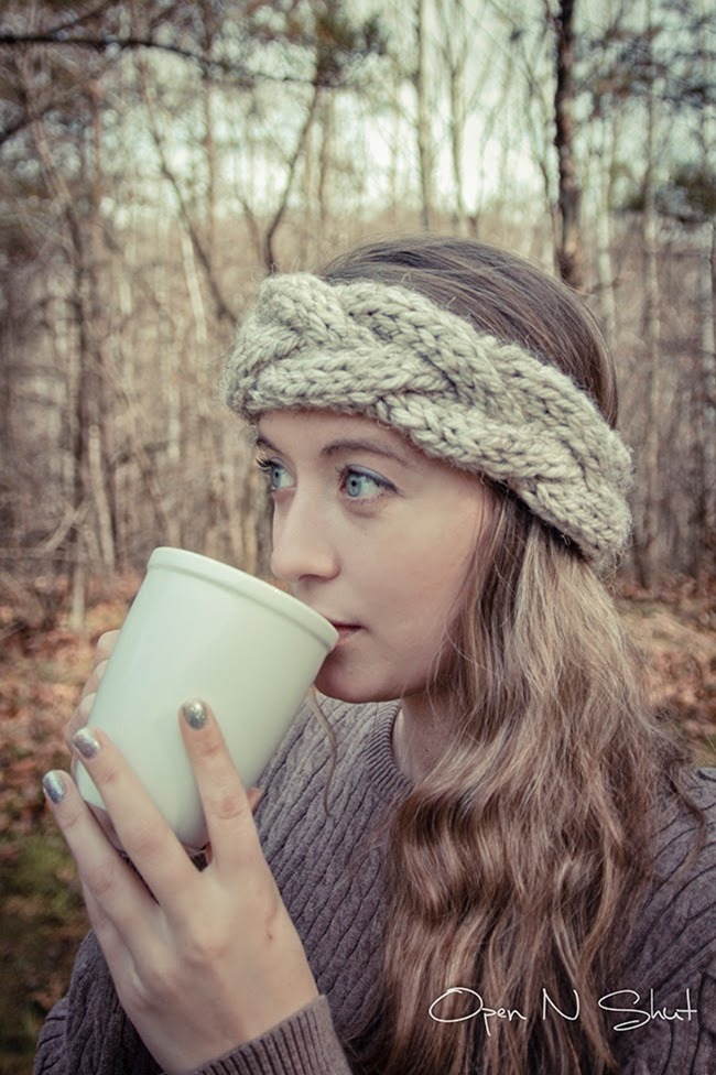 DIY Knit Cable Crown Super Bulky Headband Pattern – Margo Knits {I ...