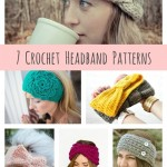 DIY Crochet Headband Patterns { 7 Free Designs}