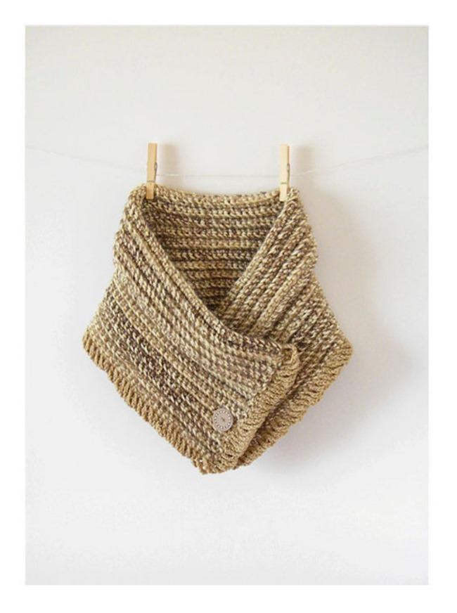 Etsy Love - Crochet neckware