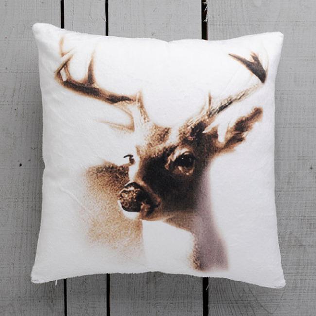 Etsy Love - deer pillow