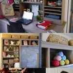 My Crafty Office {A Sneak Peek}