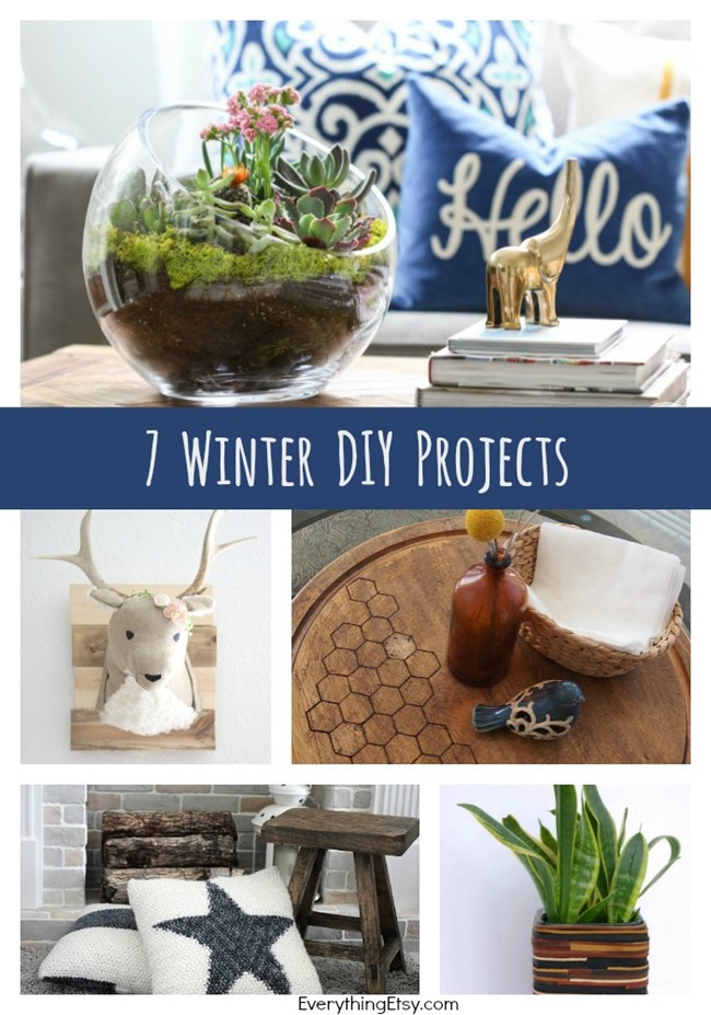 Winter DIY Projects {7 Great Ideas!} on EverythingEtsy.com