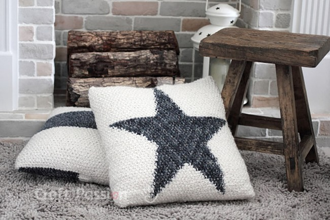 knit-star-cushion-pattern