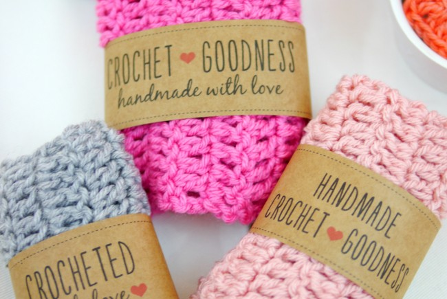 Free Printable Crochet Gift Labels