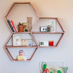 DIY Honeycomb Shelves A Beautiful Mess