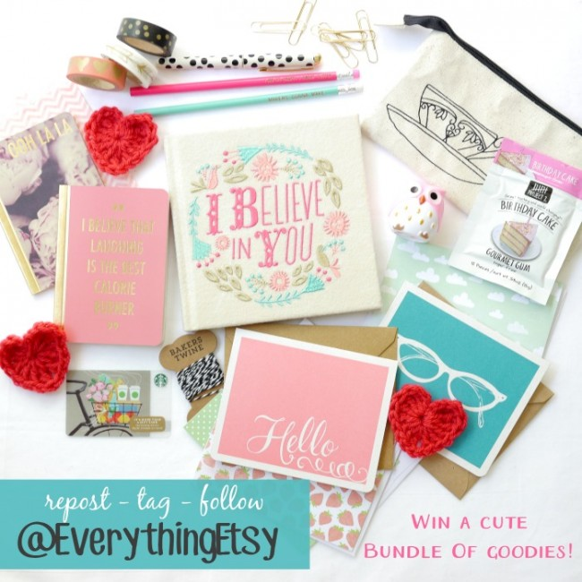 Everything Etsy Instagram Giveaway!