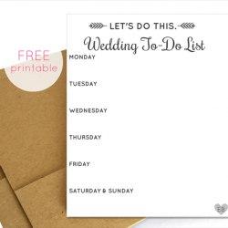 Free Wedding Printables.101 Wedding Printables Everythingetsy Com