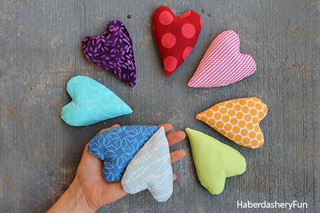 Pocket Handwarmers - DIY Heart