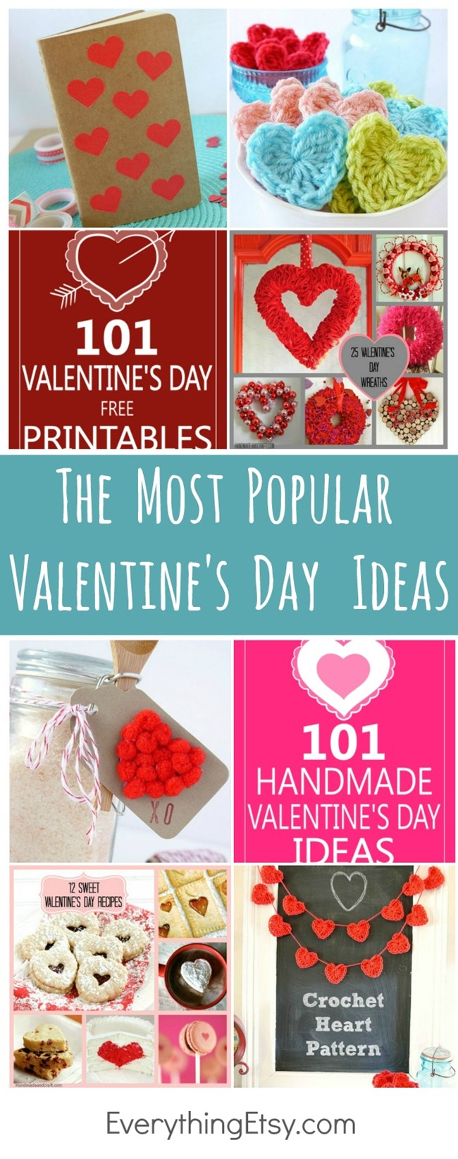 The Most Popular Valentine's Day Ideas and Printables on EverythingEtsy.com