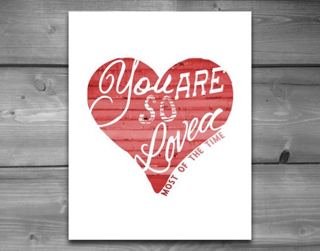Valentine's Day Printables on Etsy 1