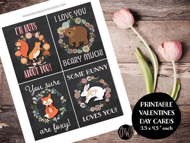 Valentine's Day Printables on Etsy 6