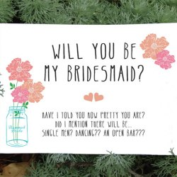 Wedding Printables Free EverythingEtsycom - Will you be my bridesmaid letter template