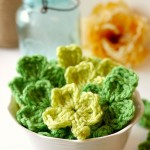 DIY Crochet Shamrocks
