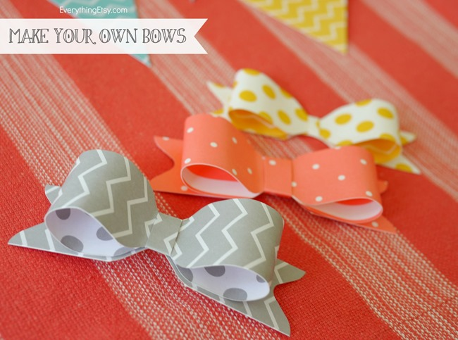 DIY Bows - We R Memory Maker Bow Punch