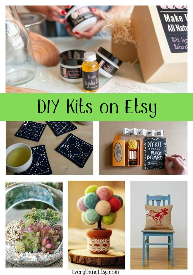 DIY Kits on Etsy - featured on EverythingEtsy.com