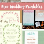 Free Wedding Printables–DIY Invitations