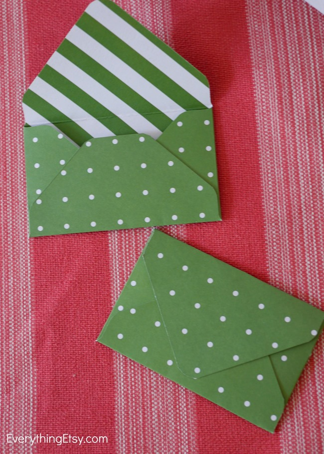 Make your own envelopes - punch board - we r memory makers