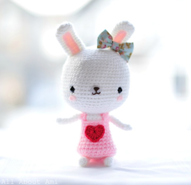 Free Crochet Pattern For Bunny : free crochet bunny patterns Quotes