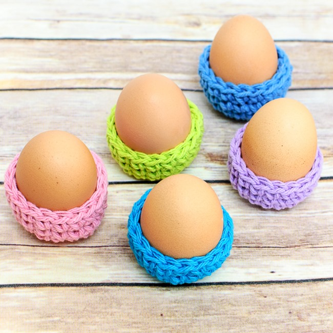 Spring Crochet Patterns - Free Designs - Egg Cozy