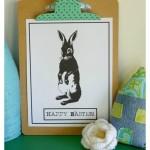 Storybook Easter Bunny Printable