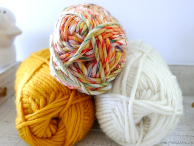 Wool Dryer Ball - Colorful Wool Yarn on EverytingEtsy.com