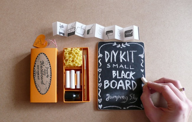 chalkboard mini kit on etsy