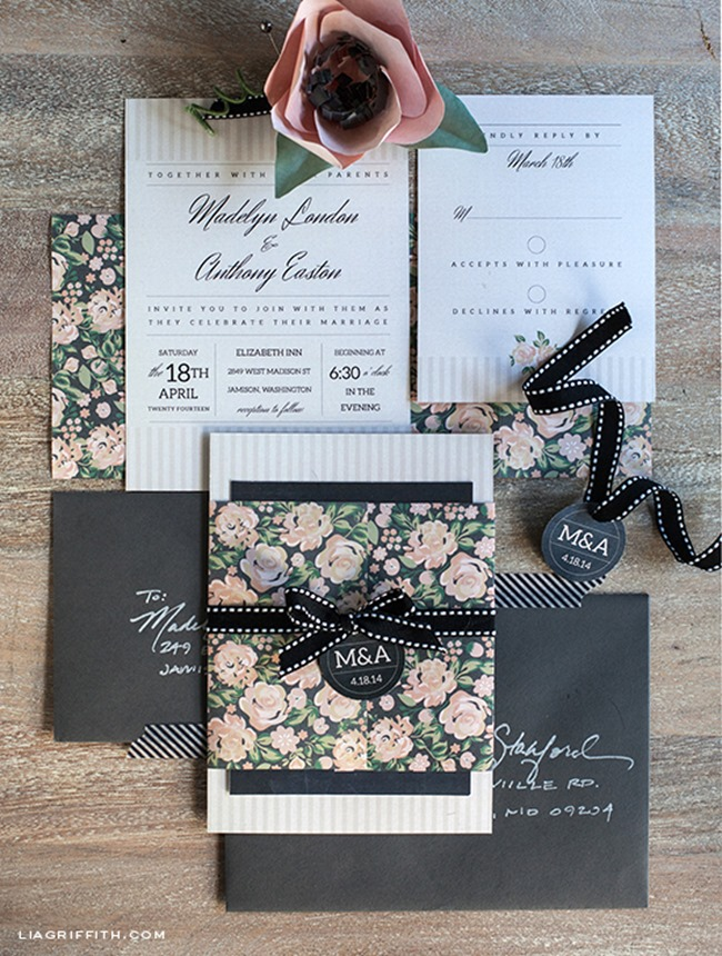 Free Wedding Printables–DIY Invitations - EverythingEtsy.com
