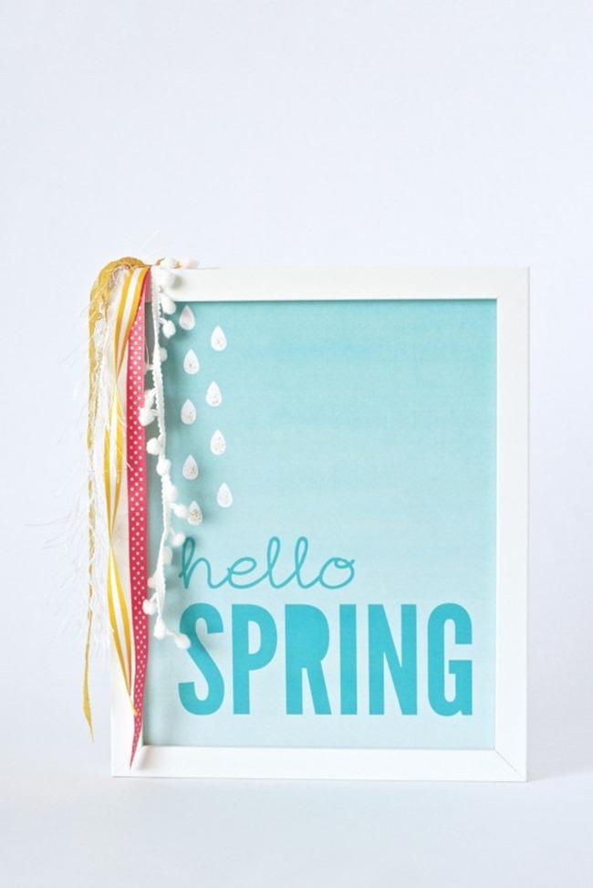 free spring printable - spring