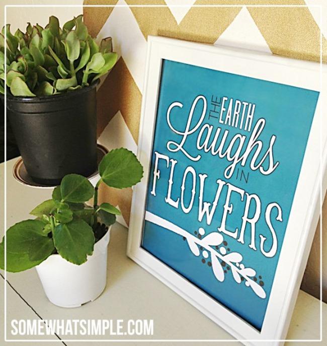 free spring printables - laughs