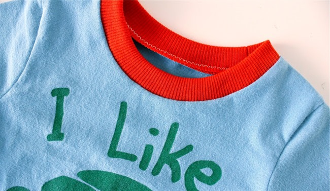sewing patterns for boys - T-shirt 2