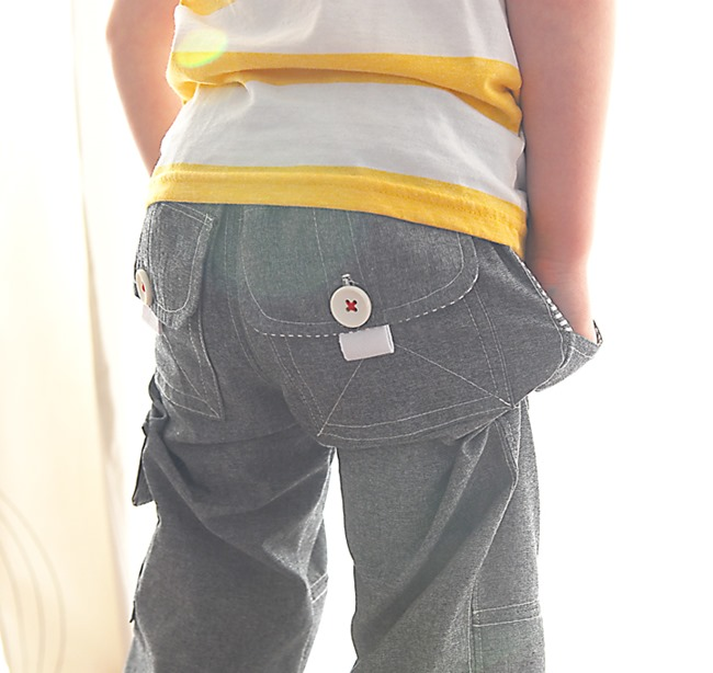 sewing patterns for boys - cargo pants