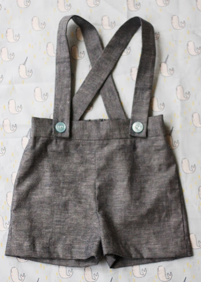 sewing patterns for boys - overalls