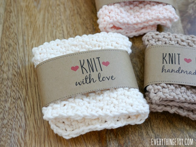 Knit Labels - Free Designs on EverythingEtsy.com