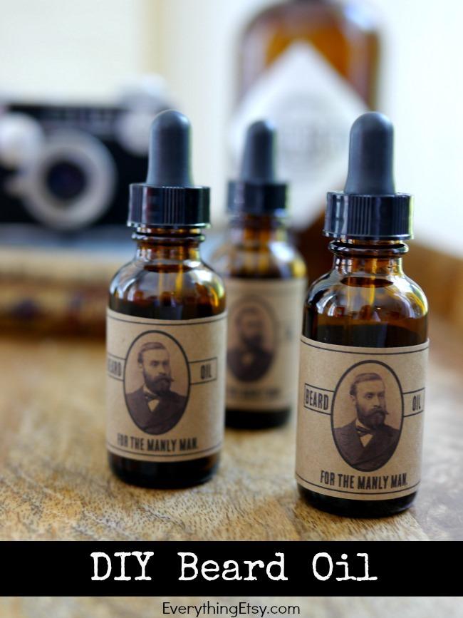 DIY Beard Oil {for the manly man} - EverythingEtsy.com