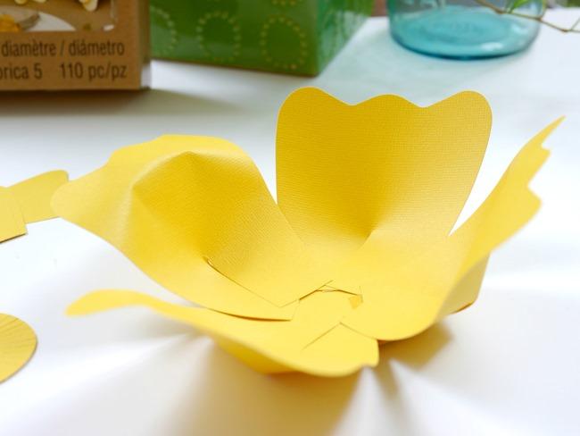 DIY Paper Flower Party Decor on EverythingEtsy.com