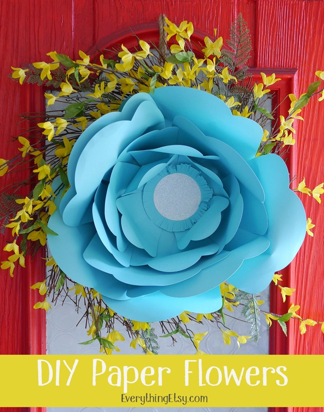 Pretty Decorative Paper Diy Paper Flowers–pretty Party