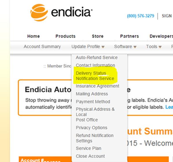 Endicia-DNS
