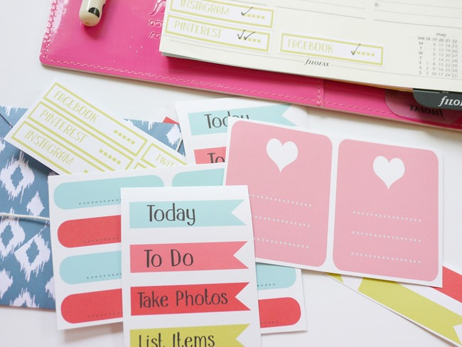 Etsy Business Planner Stickers–Free Printable