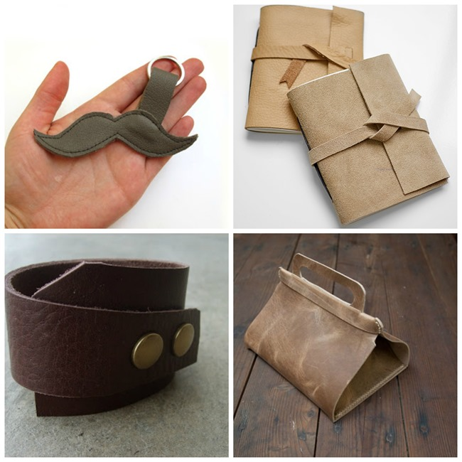Gifts for Men - 25 DIY Leather Gifts on EverythingEtsy.com
