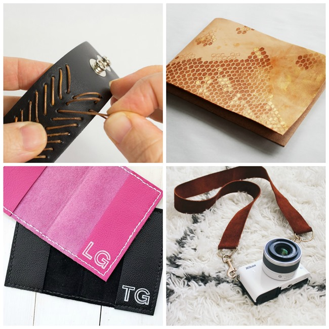 Handmade Leather GIfts for Men on EverythingEtsy.com