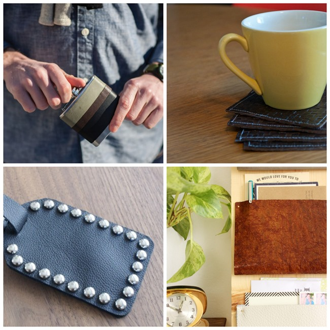 Leather DIY Gifts for Men on EverythingEtsy.com