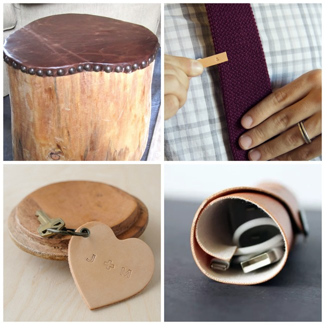 craft ideas for guys 25 diy leather gifts for everythingetsy 3849