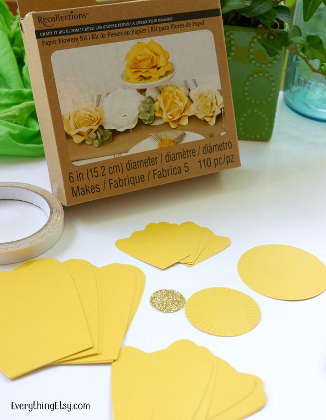 Paper Flower Kit on EverythingEtsy.com