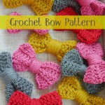 Crochet Bow Pattern {Easy Peasy Tutorial}