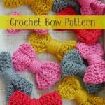 Crochet Bow Pattern {Easy Peasy Tutorial}