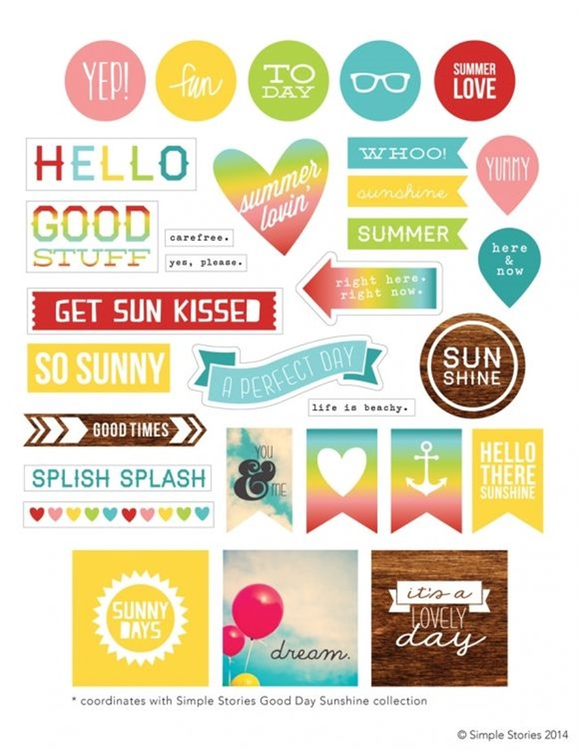 Free Planner Printables - Summer Fun