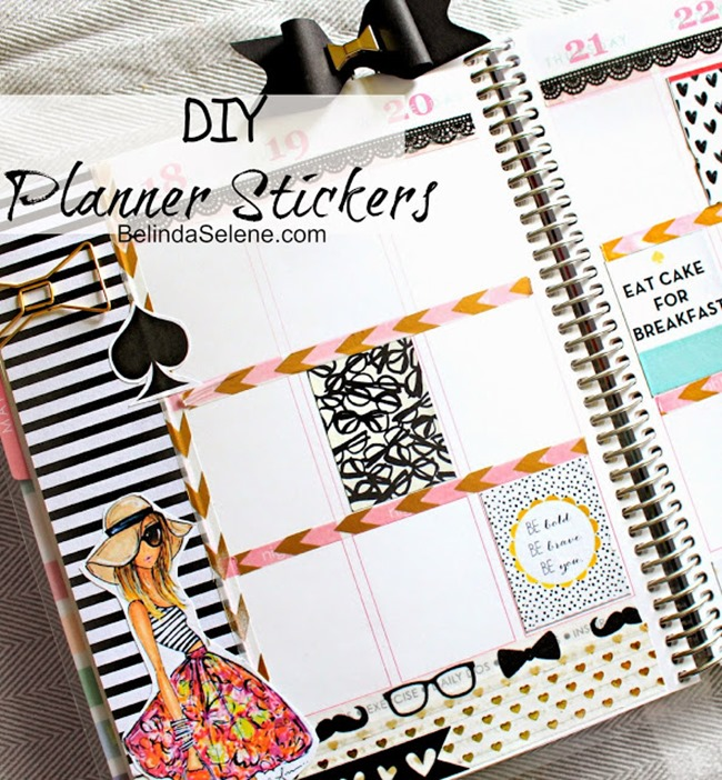 Free Printable Planner Stickers - Kate Spade Inspired