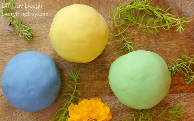 Homemade Play Doh Recipe - doterra essential oils - EverythingEtsy.com