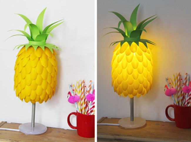Pineapple Lamp DIY